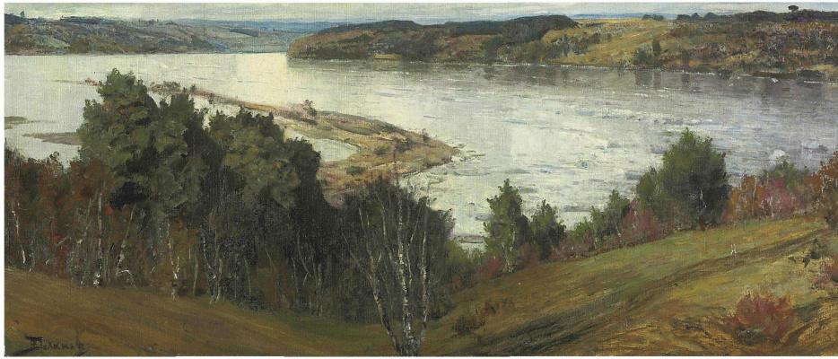 Василий Дмитриевич Поленов. Река Ока во время половодья