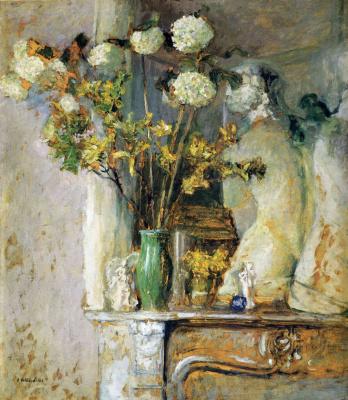 Жан Эдуар Вюйар. Цветы в белой вазе