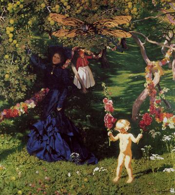 Jozef Mehoffer. Amazing garden