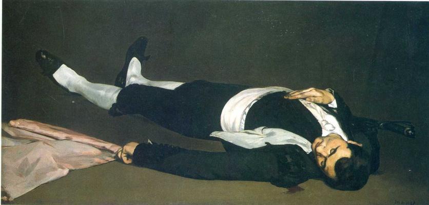 Edouard Manet. The dead toreador