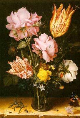 Берге. Цветы в вазе