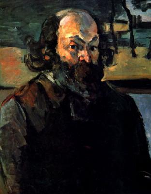 Paul Cezanne. Self-portrait