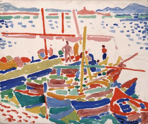 Fishing boats in L'Estaque