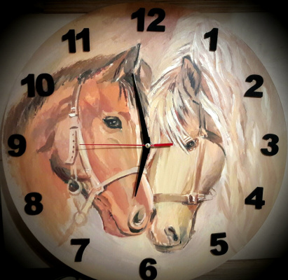 Eugene Sergeevna Gabova. Horses