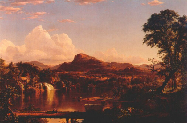 Frederick Edwin Church. English landscape