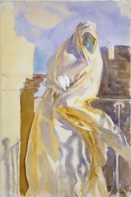 Джон Сингер Сарджент. Арабская женщина