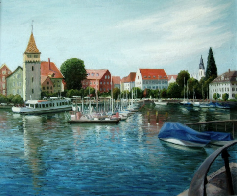 Marina Dmitrievna Razin. Germany. Lindau