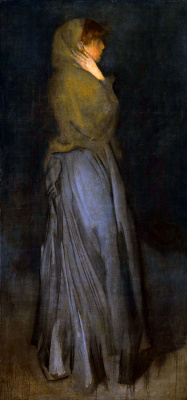James Abbot McNeill Whistler. Arrangement in yellow and grey: EFFIE deans