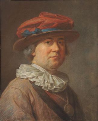 Jean Baptiste Simeon Chardin. Portrait of a man
