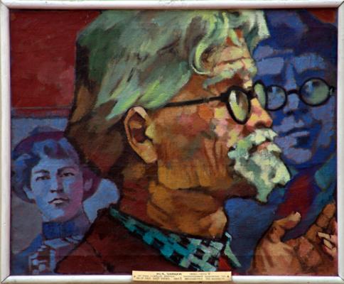 Юрий Антонович Зайцев. Self-portrait