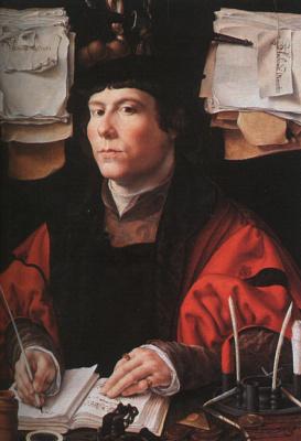 Ян Госсарт. Портрет купца