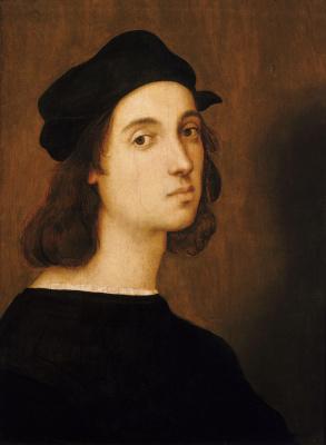 Raphael Santi. Self-portrait