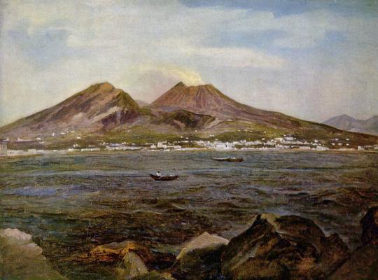 Иозеф Ребель. Вид Неаполитанского залива