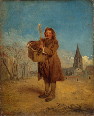 Antoine Watteau. Savoyard with a marmot