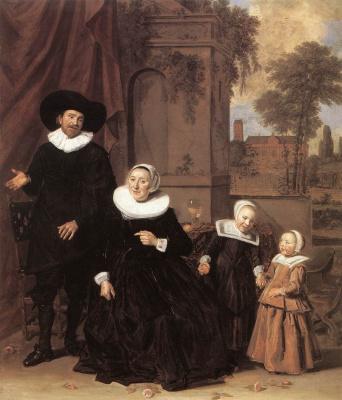France Hals. Portrait of a Dutch family