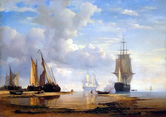 Адольф Фридрих Фолмер. Морской вид