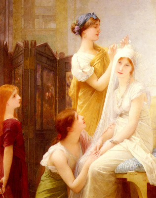 Jules Joseph Lefebvre. The bride