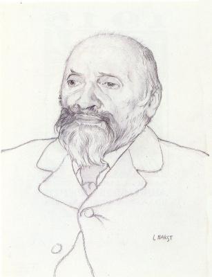 Портрет композитора Милия Алексеевича Балакирева