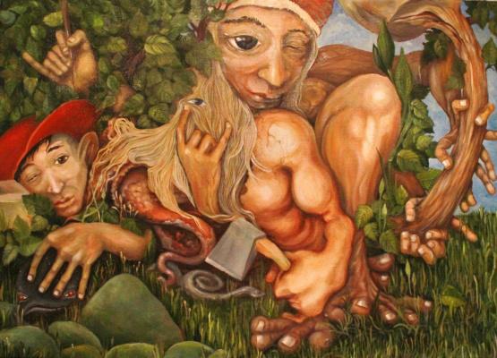 Sergei Kozin. Lulling toad. 2013