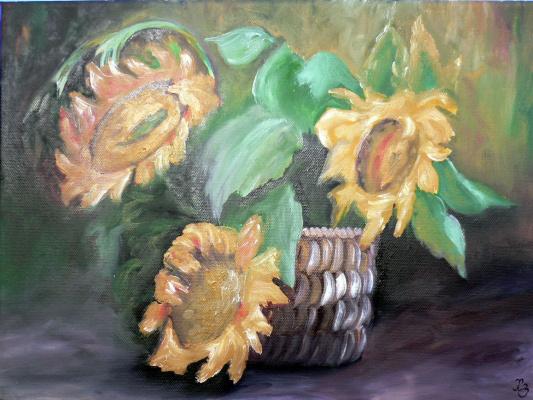 Sergei Nikolayevich Khodorenko-Zatonsky. Sunflowers