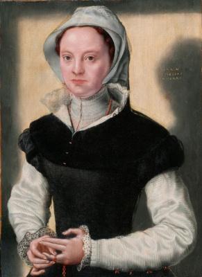 Катарина ван Хемессен. Женский портрет
