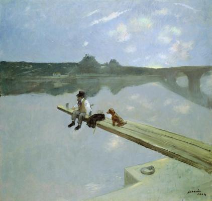 Jean-Louis Foren. Fisherman