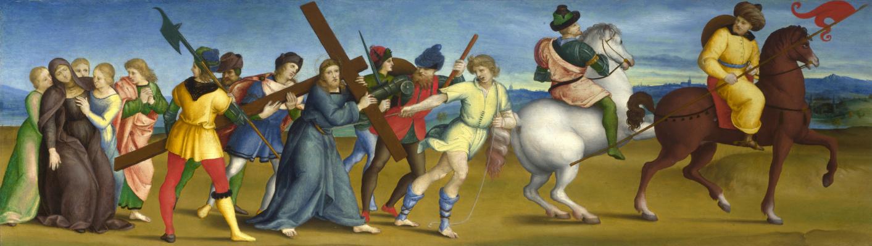Raphael Sanzio. The way to Calvary