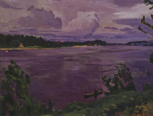 Arkady Alexandrovich Rylov. Neva before the storm