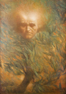 Lucien Levi-Durme. Beethoven mask.