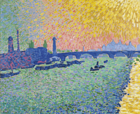 Andre Derain. Bridge , river view