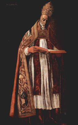Франсиско де Сурбаран. Св. Григорий