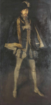 James Abbot McNeill Whistler. Arrangement in black, No. 3 Sir Henry Irving as Philip II of Spain