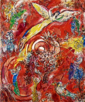Marc Chagall. The triumph of music. The final drawing murals for the Metropolitan Opera