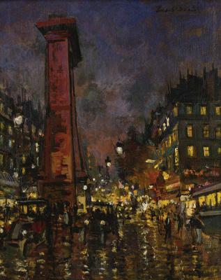 Konstantin Korovin. Paris. Saint-Denis