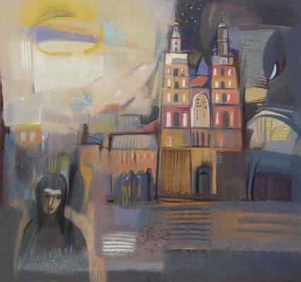 Rumyana Vnukova. Trumpeter over Krakow