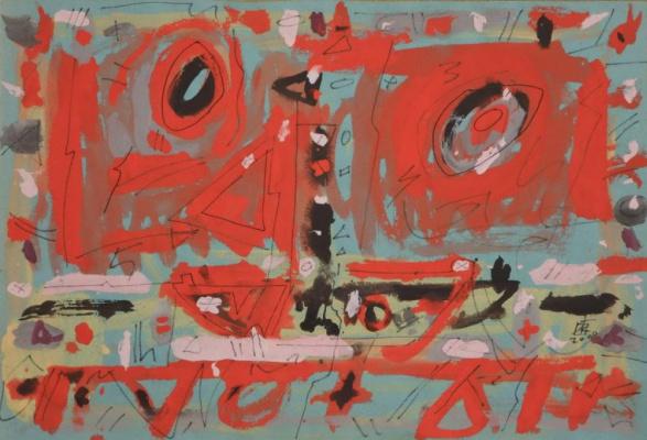 Igor Vasilyevich Kislitsyn. Red composition