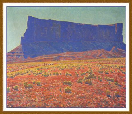 Мейнард Диксон. Памятник Навахо резервация Аризона