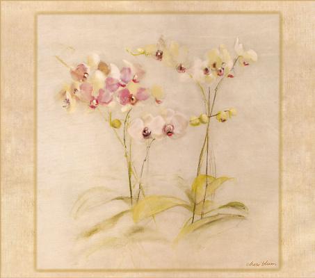Чери Блюм. Нежные цветы