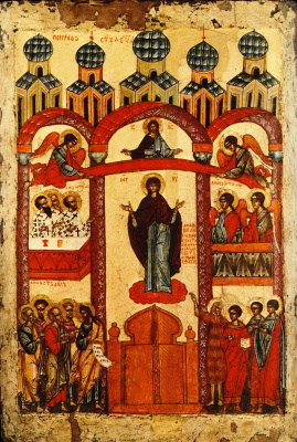The Intercession Of The Holy Virgin (Novgorod)