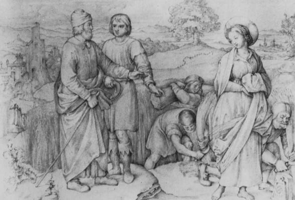 Johann Friedrich Overbeck. Ruth and Boaz