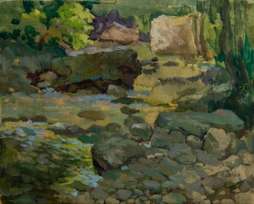 Tanika Yezhova. Water