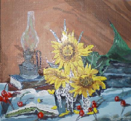 Vladimir Adamovich Ropot. Sunflowers