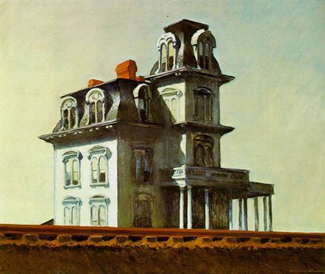 Edward Hopper. House by the railway
