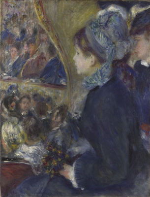 Pierre-Auguste Renoir. First departure