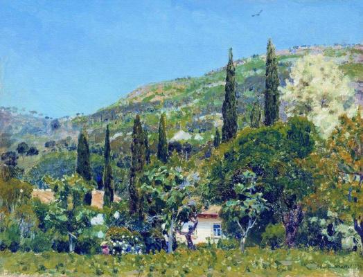 Apollinarius Mikhailovich Vasnetsov. Crimean landscape