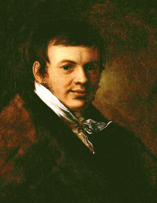 Vasily Andreevich Tropinin. Portrait Of Vasily Stepanovich Eneva