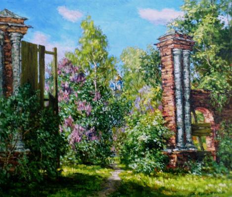 Victor Vladimirovich Kuryanov. Old gate