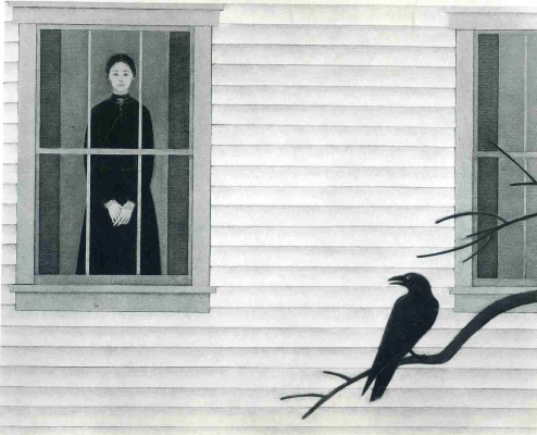 Will Barnet. The view from the window