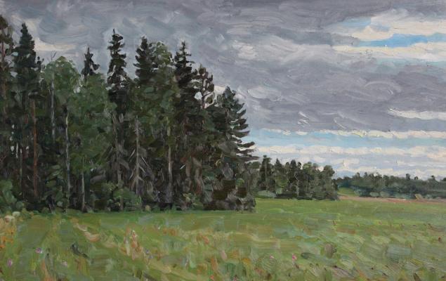 Eugene Alexandrovich Kazantsev. Panteleevsky forest. Mstera.