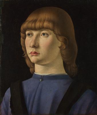 Джакометто Венециано. Портрет мальчика